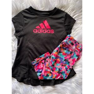 Adidas 2T Girl Outfit